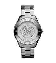 A|X Armani Exchange Women's Stainless Steel Embellished Watch