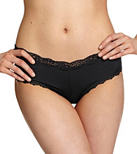B intimates Lace Trim Cheeky Briefs
