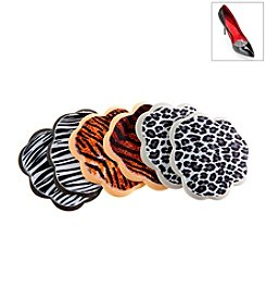 Foot Petals® Safari Print Tip Toes 3-Pack