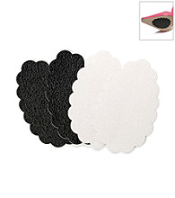 Foot Petals® Sole Stopperz - Combo Clear/Black