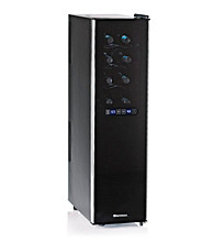 Wine Enthusiast Silent 18-Bottle Dual-Zone Touchscreen Slimline Wine Refrigerator