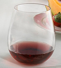 Wine Enthusiast Set of 4 Break-Free PolyCarb Wine Tumblers