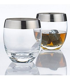Wine Enthusiast Set of 2 Madison Avenue Whiskey Glasses