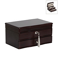 Mele & Co. Davina Locking Jewelry Box