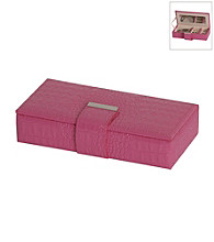 Mele & Co Justine Travel Jewelry Case - Raspberry