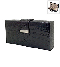 Mele & Co Justine Travel Jewelry Case - Black