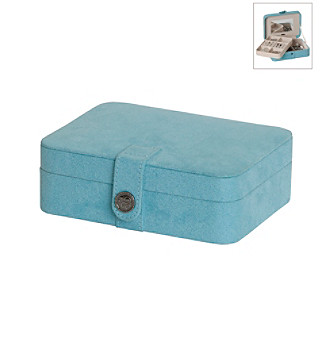 Mele & Co Giana Jewelry Box - Aqua