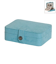 Mele & Co Giana Jewelry Box - Aqua