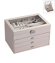 Mele & Co Lyndon Locking Jewelry Box