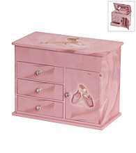 Mele & Co Corey Musical Ballerina Jewelry Box