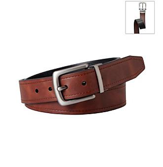 Fossil® Men's Brown Reversible Belt