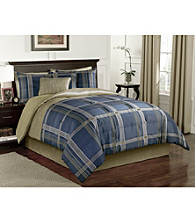 Corsica Blue 6-pc. Comforter Set by LivingQuarters