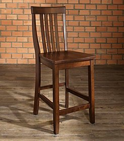 Crosley Furniture Set of Two School House Bar Stools