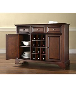 Crosley Furniture LaFayette Buffet Server with Wine Storage