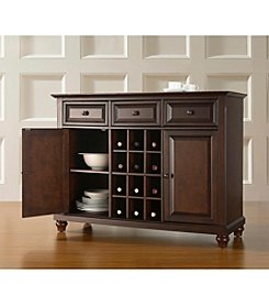 Crosley Furniture Cambridge Buffet Server with Wine Storage