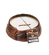 WoodWick® RibbonWick® Brownstone Collection Round Candle by Virginia Candle Company™