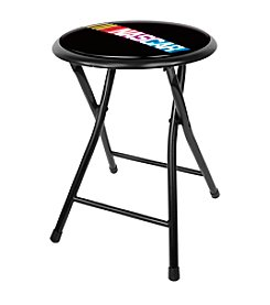 "Trademark Global NASCAR® 18"" Folding Stool"