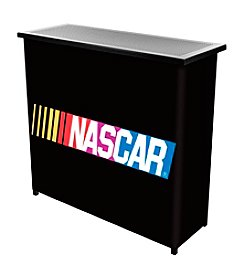 Trademark Global NASCAR® 2-Shelf Portable Bar with Case
