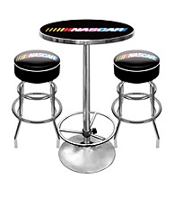 Trademark Global NASCAR® Game Room Combo Table and Stool Set