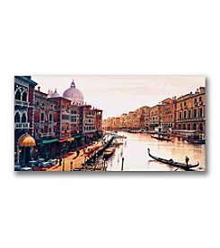 "Trademark Fine Art ""Venice: by Hava Canvas Art"