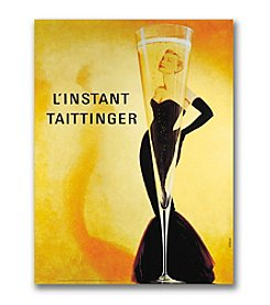 "Trademark Fine Art ""Taittinger""  by unknown artist  Canvas Art"