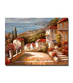 "Trademark Fine Art ""Home in Tuscany"" by Joval Canvas Artwork"