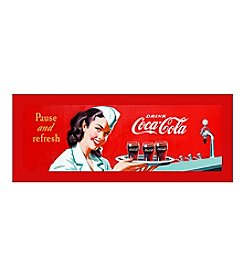 "Trademark Fine Art ""Coke Waitress""  Stretched Canvas Print"
