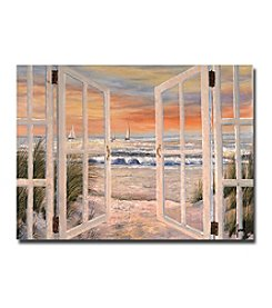 "Trademark Fine Art ""Elongated Window"" by Joval Canvas Art"