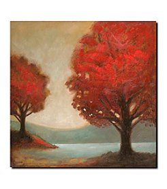 "Trademark Fine Art ""Modern Landscape"" by Joval Gallery Wrapped Canvas Art"