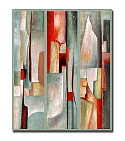 """Abstract Triptych"" by Joval Canvas Art"