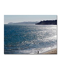 "Trademark Fine Art ""Malibu""  by Kurt Shaffer Gallery Wrapped Canvas"