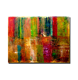 Trademark Fine Art Color Abstract by Michelle Calkins Canvas Art