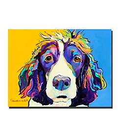 "Trademark Fine Art ""Sadie"" by Pat Saunders-White Canvas Art"