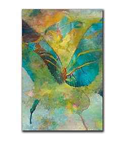 "Butterflight"" by Rickey Lewis Canvas Art"
