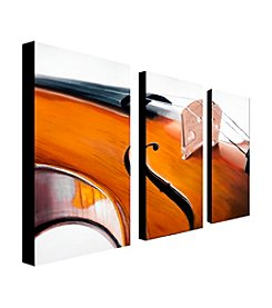 """Music Store II"" by Roderick Stevens Canvas Art"