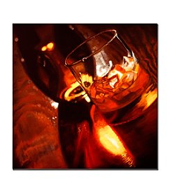 "Trademark Fine Art ""On the Rocks"" by Roderick Stevens Canvas Art"