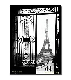 "Trademark Fine Art ""Views of Paris"" by Sally Gall Gallery-Wrapped Canvas Art"