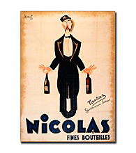 Nicolas Fines Bouteilles-Gallery-Wrapped 18x24 Canvas Art