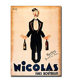 Trademark Fine Art Nicolas Fines Bouteilles-Gallery-Wrapped Canvas Art