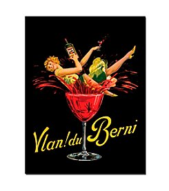 "Trademark Fine Art ""Du Vin Blanc"" Canvas Art"