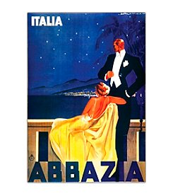 "Trademark Fine Art ""Italia Abbazia"" Canvas Art"