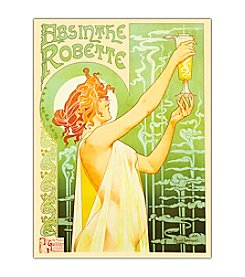 "Trademark Fine Art ""Absinthe Robette"" by Privat-Livemont Canvas Art"