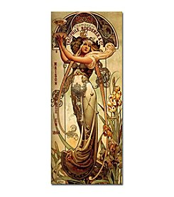 "Trademark Fine Art ""Champagne Theophile Roeder & Co."" by Louis-Theophile Hingre Canvas Art"