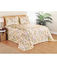 Martinique Throw Style Ivory Bedspread by S. Lichtenberg