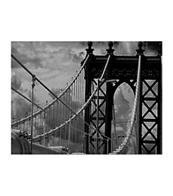 """Manhattan Bridge"" by Yale Gurney Canvas Art"