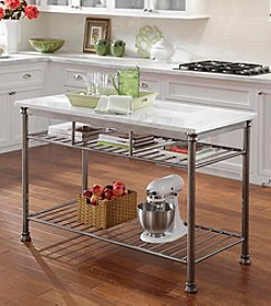 Home Styles® The Orleans Kitchen Island with Marble Top