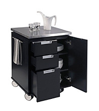 Home Styles® Black Modern Kitchen Cart