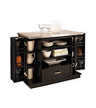 Home Styles® Black Versatile Kitchen Island