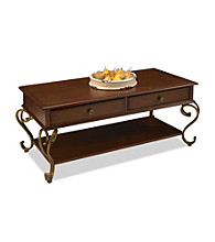 Home Styles® St. Ives Cinnamon Cherry Finish Cocktail Table