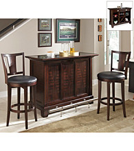 Home Styles® Rio Vista Espresso Finish 3-pc. Bar Set